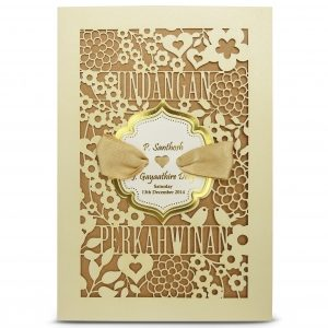 elegant wedding cards VIP SG